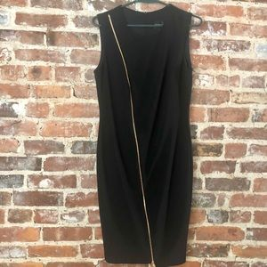 LBD with fun zipper detail
